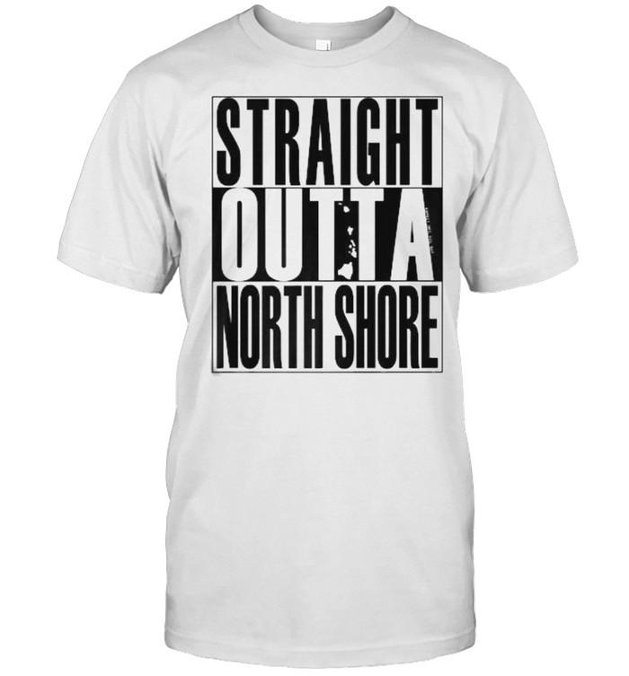 Straight Outta North Shore T- Classic Men's T-shirt