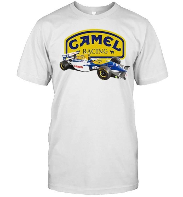 Camel Racing Canon Car  Classic Men's T-shirt