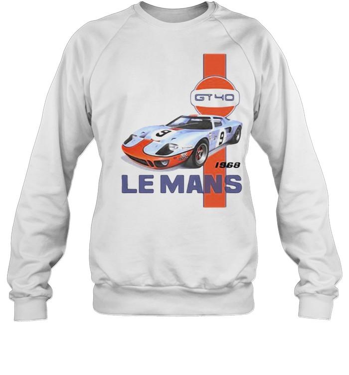 Le Mans Ford GT40 1968  Unisex Sweatshirt