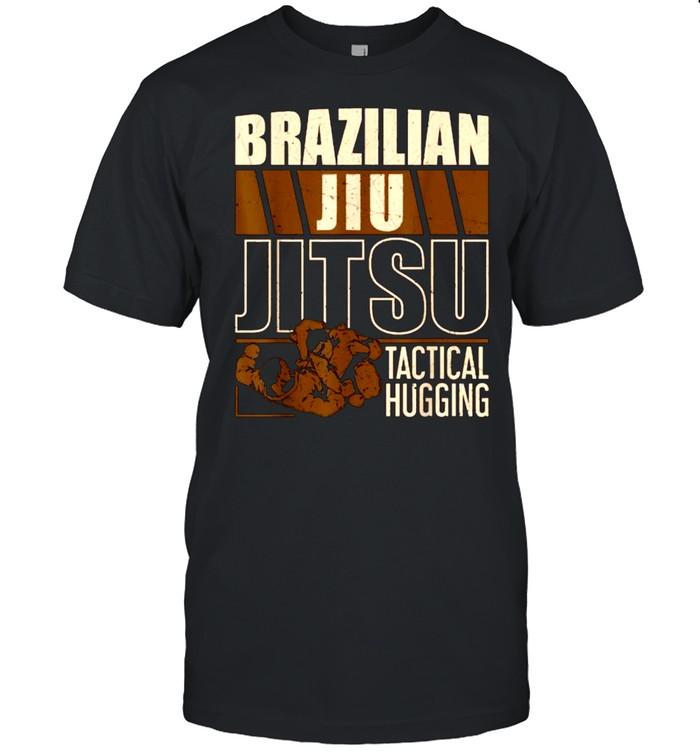 Brazilian Jiu Jitsu Tactical Hugging T- Classic Men's T-shirt