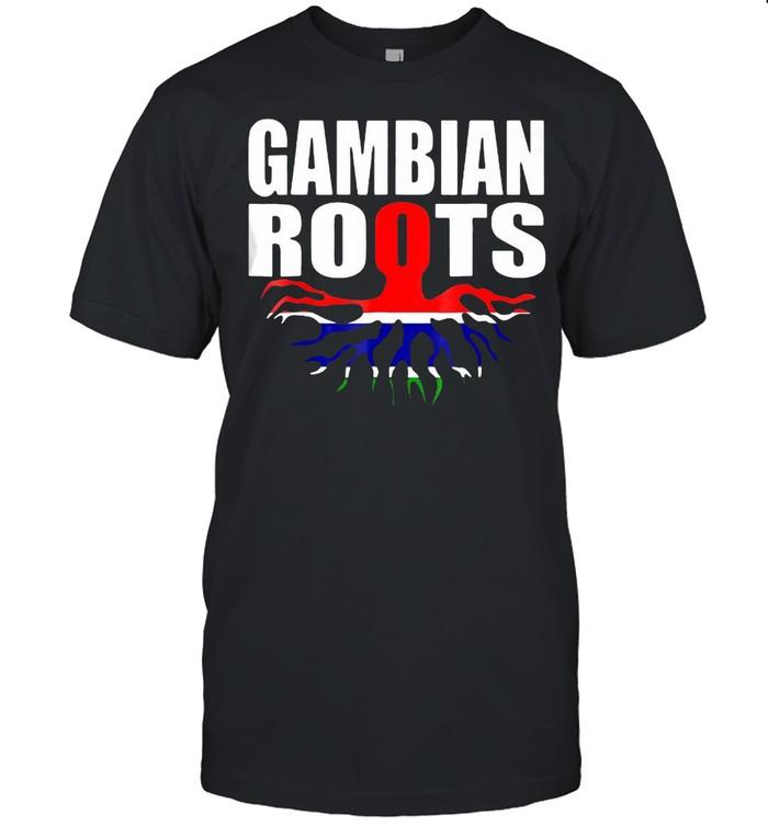 Storecastle Gambian Roots Gambia Pride Flag T-shirt Classic Men's T-shirt