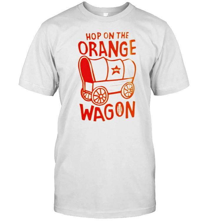 Hop on the orange wagon shirt Classic Men's T-shirt