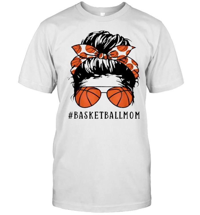Basketball Mom Messy Bun  Classic Men's T-shirt