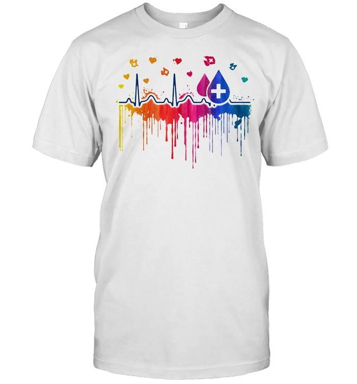Beat Paint Proud Phlebotomist  Classic Men's T-shirt