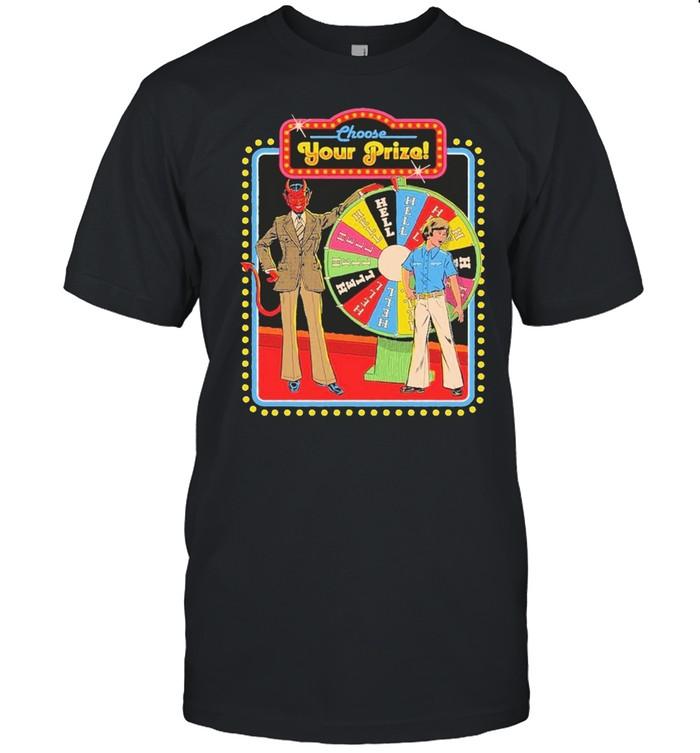 choose your prize shirt Classic Men's T-shirt