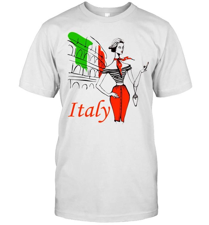 Italy, rome,women shirt Classic Men's T-shirt