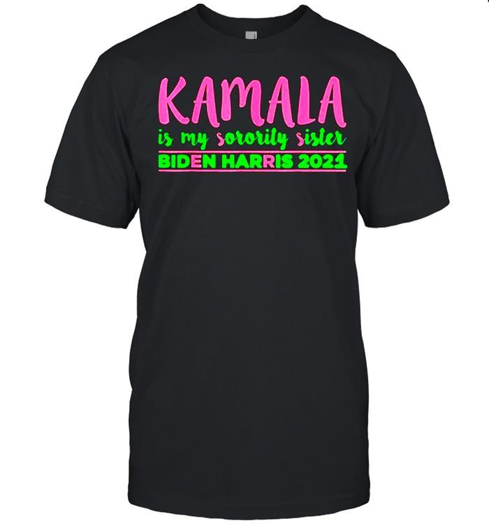 Kamala is my Sorority Sister Biden Harris, Kamala Harris Aka shirt Classic Men's T-shirt