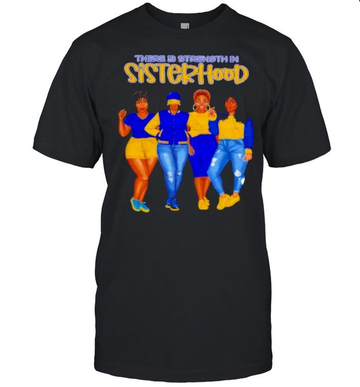 There is strength in sisterhood yellow girls shirt Classic Men's T-shirt