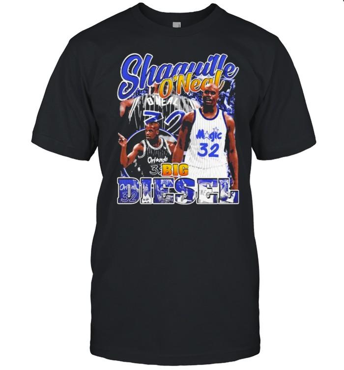 NBA Shaquille O'neal Big Diesel  Classic Men's T-shirt