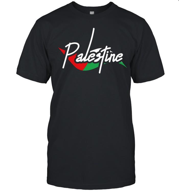 Palestine Eye With Flag The Arab Symbol Fist Of Palestine shirt Classic Men's T-shirt