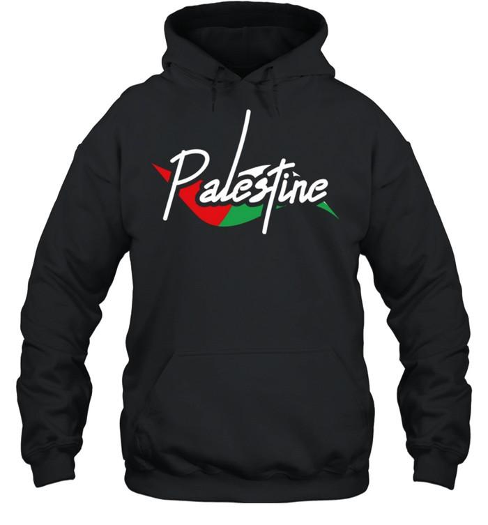 Palestine Eye With Flag The Arab Symbol Fist Of Palestine shirt Unisex Hoodie