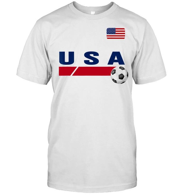 USA Support USA Soccer shirt Classic Men's T-shirt