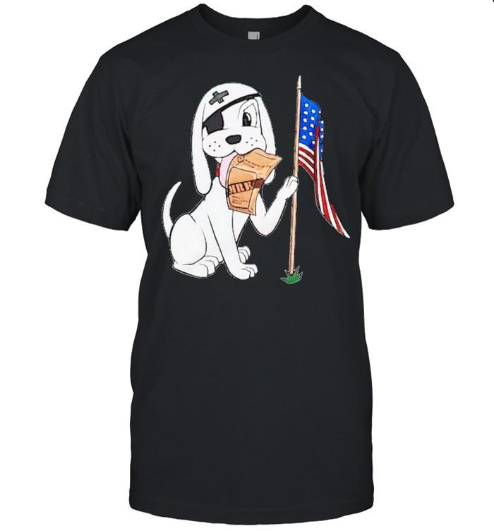 Pirate dog USA shirt Classic Men's T-shirt