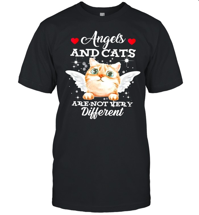 Cat angels and cats are not very different shirt Classic Men's T-shirt