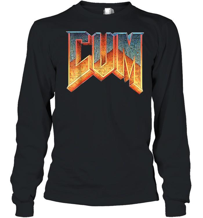 DoomCum shirt Long Sleeved T-shirt