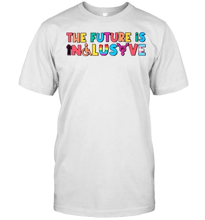 LGBT the future is inclusive shirt Classic Men's T-shirt