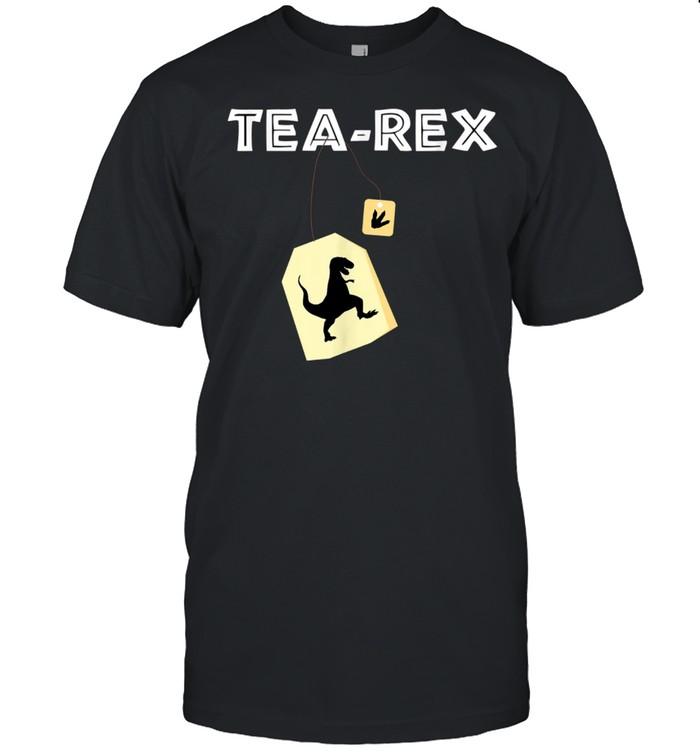 Tea Rex TRex Dinosaur Idea shirt Classic Men's T-shirt