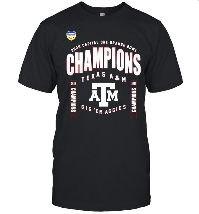 Texas A&M Aggies 2021 College Football Champions shirt Classic Men's T-shirt