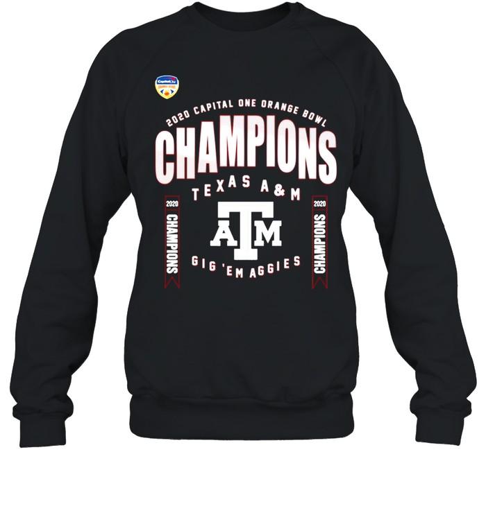Texas A&M Aggies 2021 College Football Champions shirt Unisex Sweatshirt