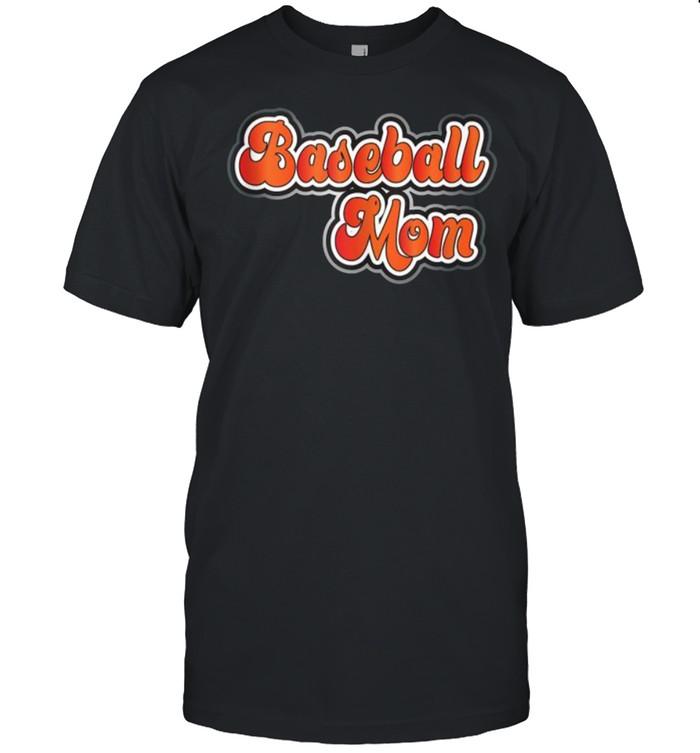 Williston ND Baseball Mom  Classic Men's T-shirt