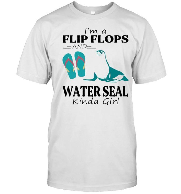 Im a Flip Flop and Water Seal kinda girl shirt Classic Men's T-shirt