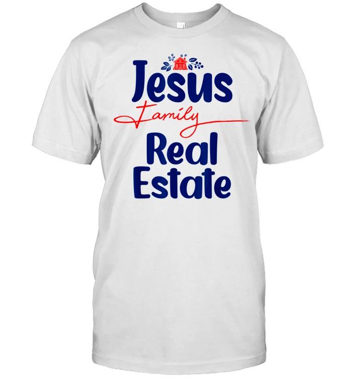 Jesus Family Real Estate Agent Realtor Quotes shirt Classic Men's T-shirt