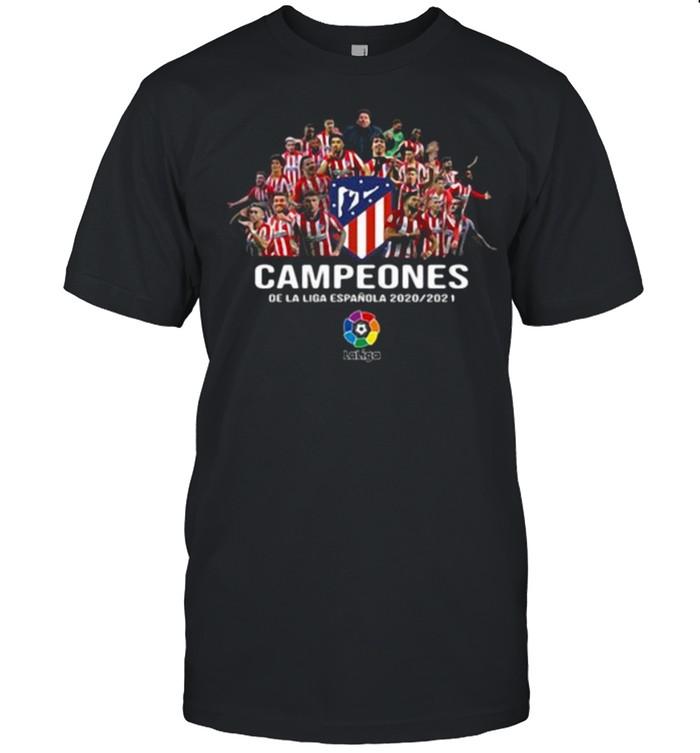 Campeones la liga espanola 2020 2021 shirt Classic Men's T-shirt