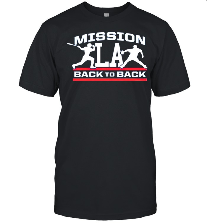 Los Angeles Dodgers mission back to back shirt Classic Men's T-shirt