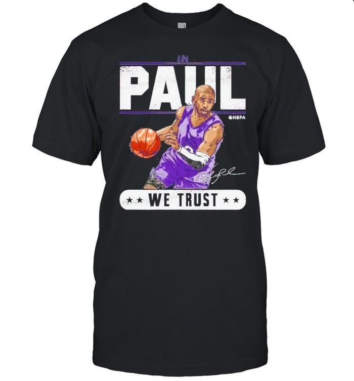 Chris Paul in paul we trust shirt Classic Men's T-shirt