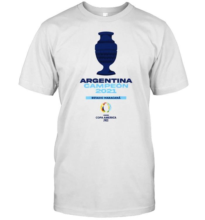 Argentina Champion Estadio Maracana Copa America 2021 T- Classic Men's T-shirt