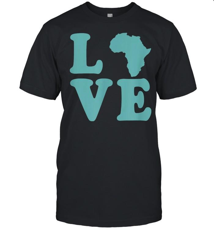 Love Africa Melanin American History Pride Juneteenth Party shirt Classic Men's T-shirt