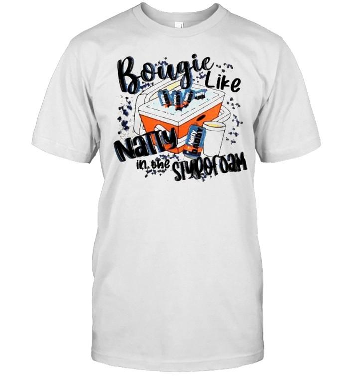 Bougie Like Natty In The Styrofoam Funny Drinking Beer Lover  Classic Men's T-shirt