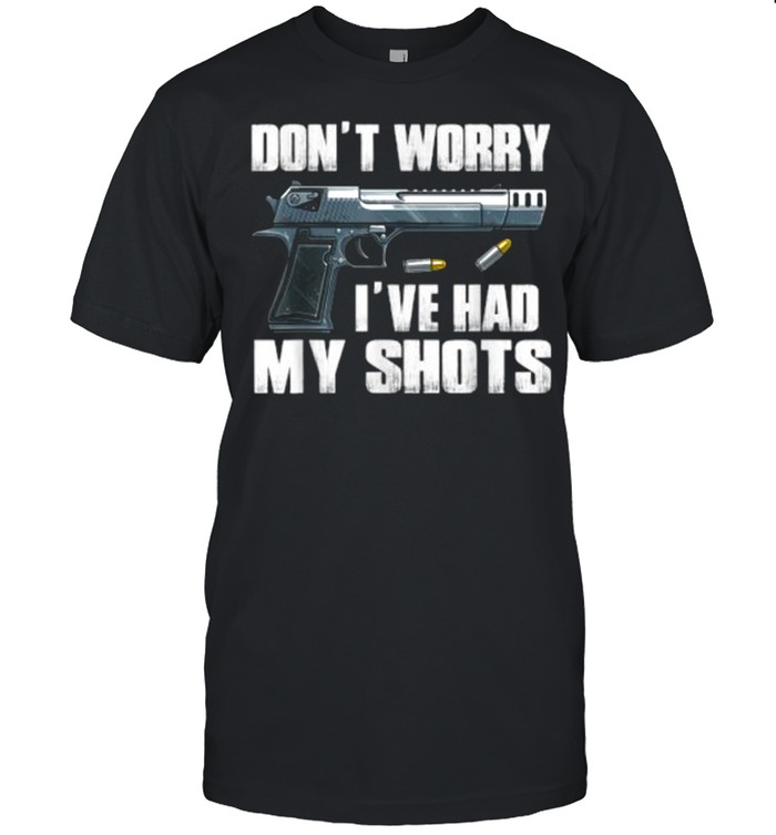 Don't Worry I've Had My Shots I Second That Unmasked T- Classic Men's T-shirt
