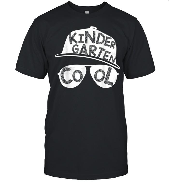 Kindergarten Cool Back To School Sunglasses shirt Classic Men's T-shirt