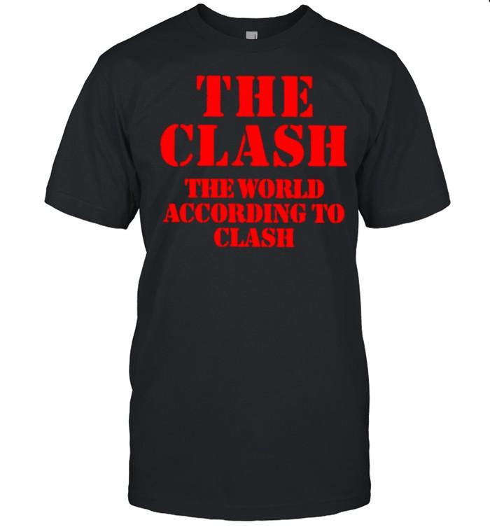 The clash the world according to clash shirt Classic Men's T-shirt