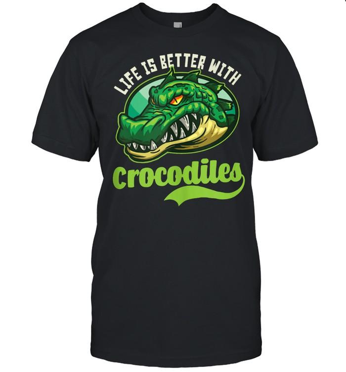 Sporty Crocodiles Design Crocodile shirt Classic Men's T-shirt