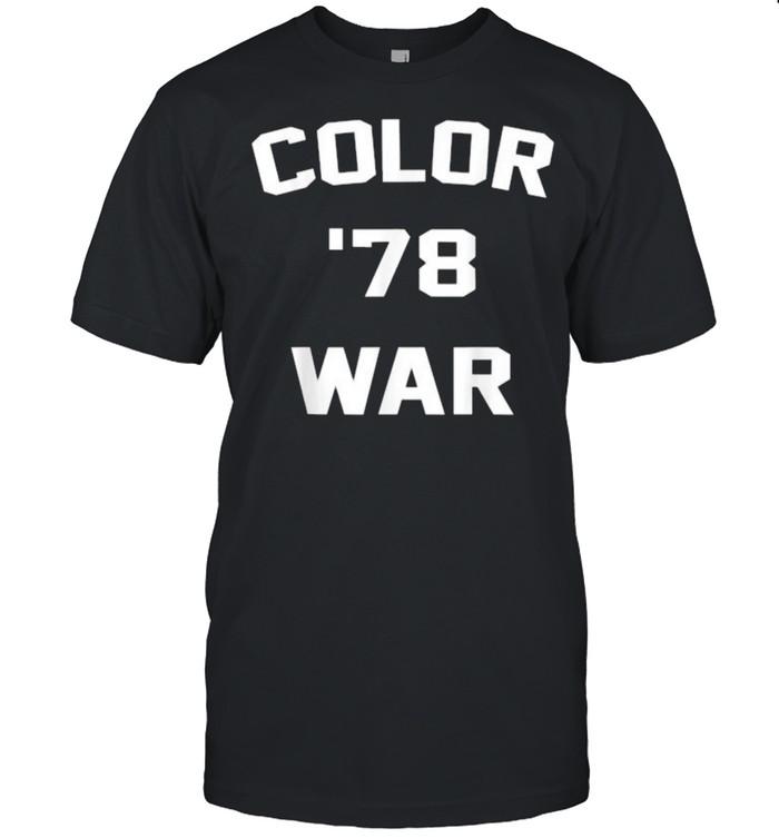 Color War '78 T- Classic Men's T-shirt