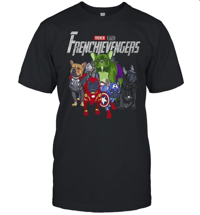 Marvel Avengers French Bulldog Avengers T-shirt Classic Men's T-shirt