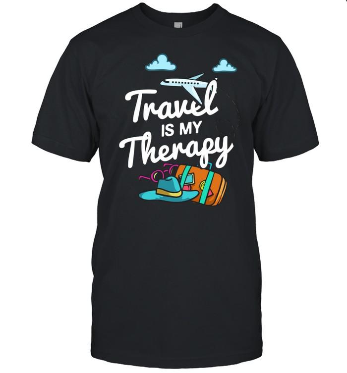 Traveling Airplane World Trip Planning shirt Classic Men's T-shirt