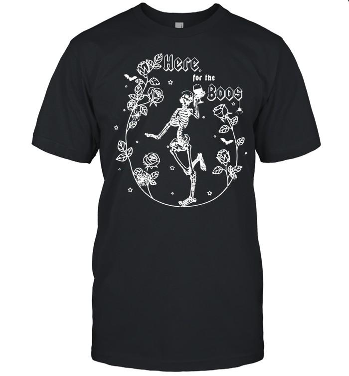 Skeleton rose here for the boos shirt Classic Men's T-shirt
