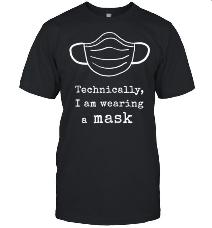 Wearing a Mask shirt Classic Men's T-shirt