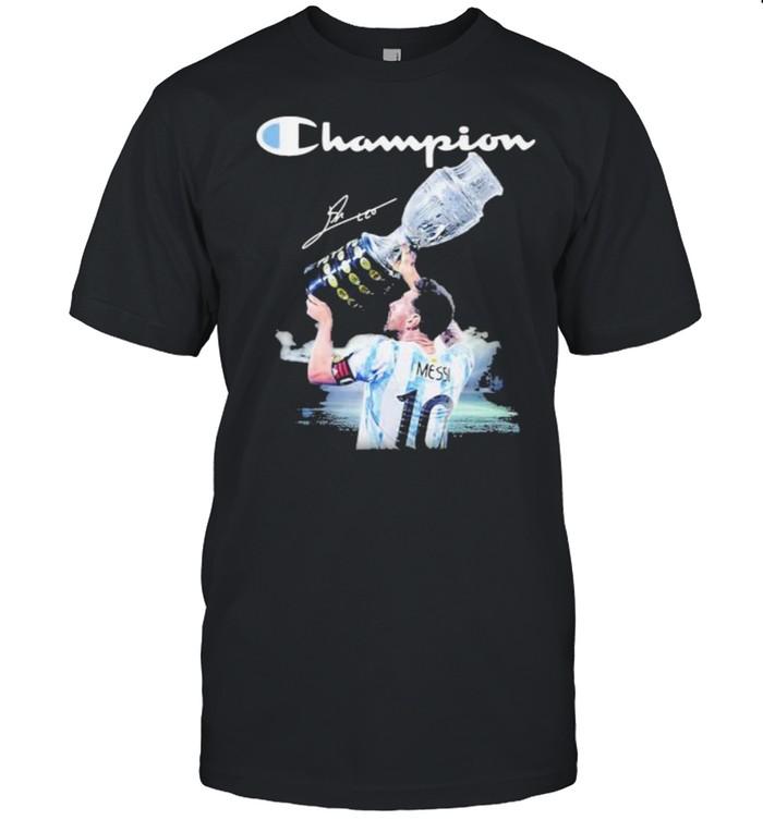 Champion Cup Messi Signature shirt Classic Men's T-shirt