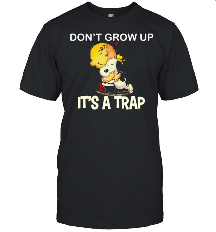 Don't Grow Up It's A Trap Snoopy shirt Classic Men's T-shirt
