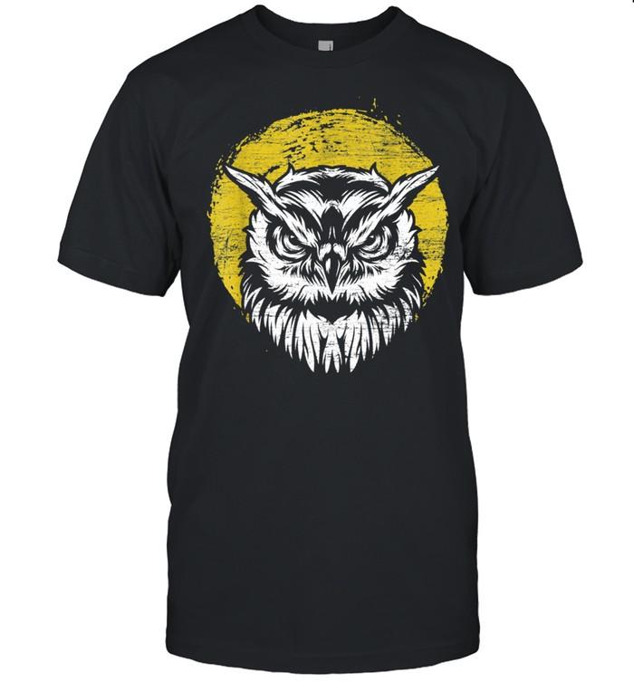 Retro Owl shirt Classic Men's T-shirt