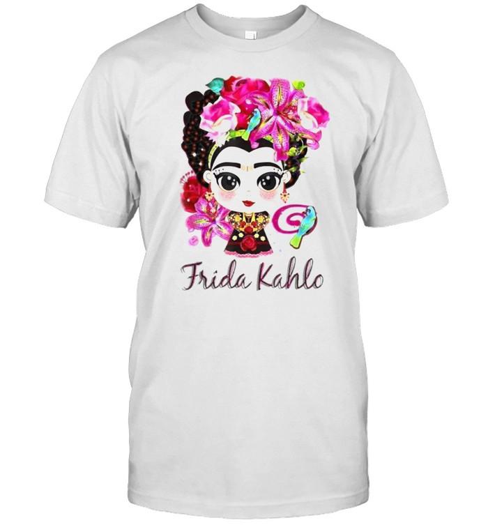 Fridas Kahlos La Pintoras Mexicans  Classic Men's T-shirt