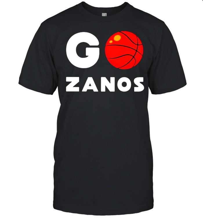 Go Zanos basketball shirt Classic Men's T-shirt