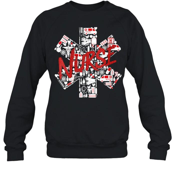 Medicine Nursing Hospital Healthcare Nursery Medical Nurse shirt Unisex Sweatshirt