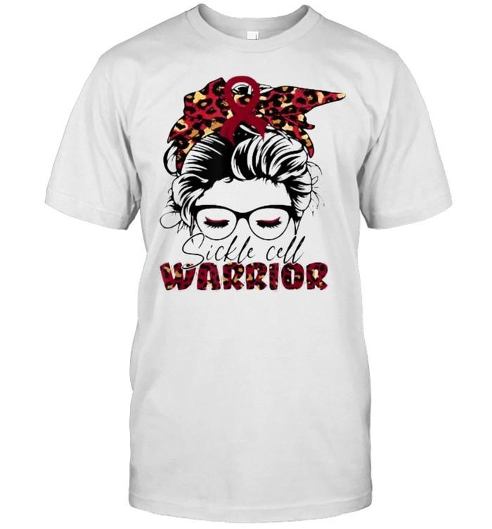 Sickle cell burgundy bandana warrior T- Classic Men's T-shirt