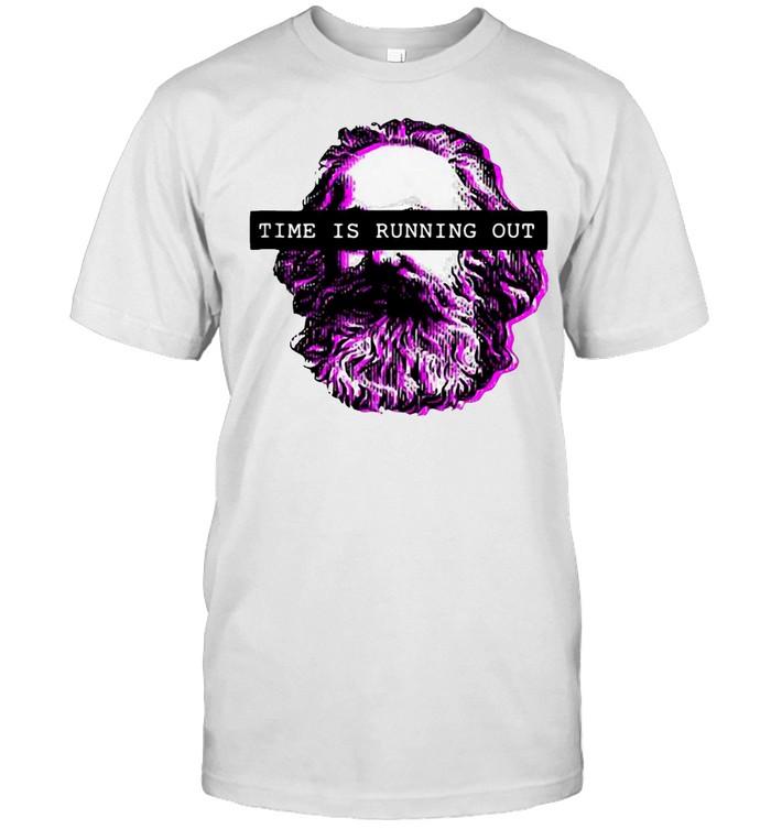 Karl Marx 80s 90s Nostalgia Marxist Propaganda Communism T-shirt Classic Men's T-shirt