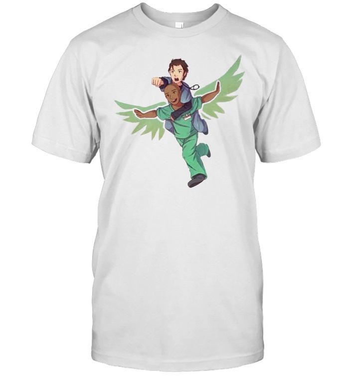 Fake doctors real friends eaaagle shirt Classic Men's T-shirt